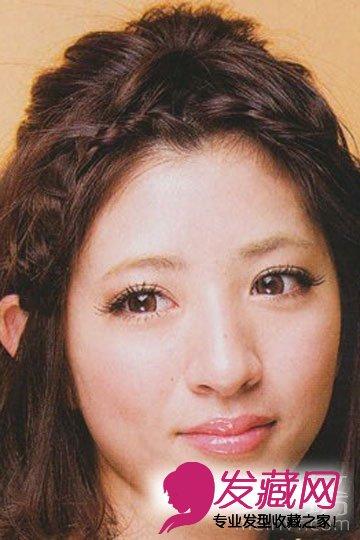 女生短发扎发发型diy(4)