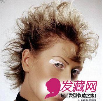 2015个性短发 沙宣短发烫发发型图