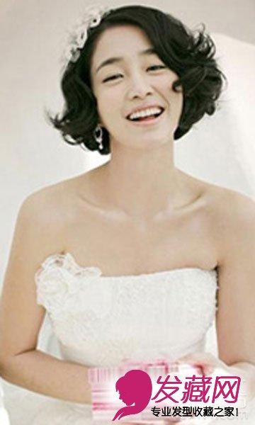 短发新娘发型设计 最新新娘发型鉴赏