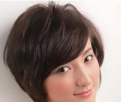 日系潮流短发 女生短发发型设计