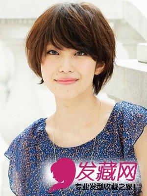 女生最爱短发发型设计图推荐(4)
