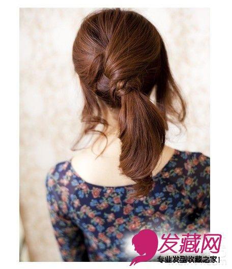diy俏丽马尾编发 可爱迷人(3)