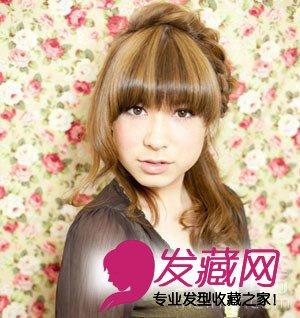 齐刘海直发发型扎法图解 美女坊女性网分享齐刘海直发发型图片