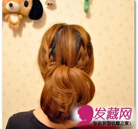 编发发型的甜美度 →韩式编发公主头发型 清甜扎发萌妹必学