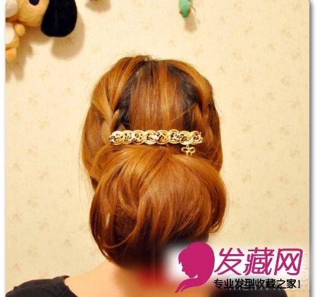 韩式编发发型设计图片(10)
