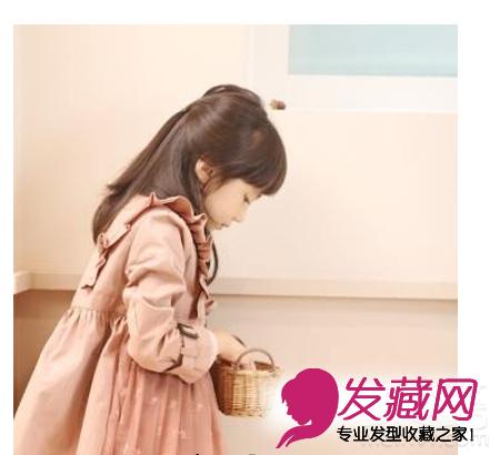 可爱小女孩发型 小女孩发型绑扎方法(3)