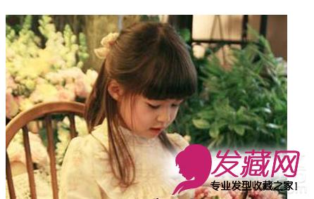 女生可爱发型 > 可爱小女孩发型 小女孩发型绑扎方法(4)  →春夏儿童