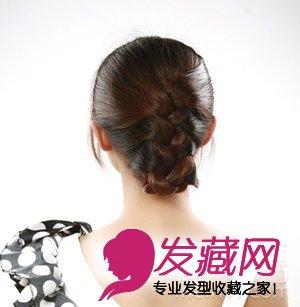 2款韩式编发盘发步骤 让你一见倾心 →长发大改造 优雅蜈蚣辫盘发