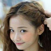 3款韩式发型扎法图解 最美白色情人节