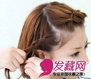教你短发怎么扎好看(4)图片
