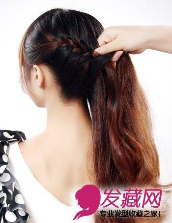 【图】教你长头发怎样扎好看(3)