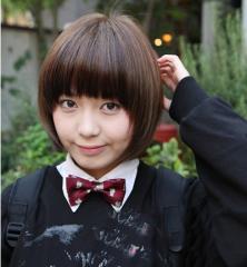 学生圆脸发型 圆脸短发发型设计