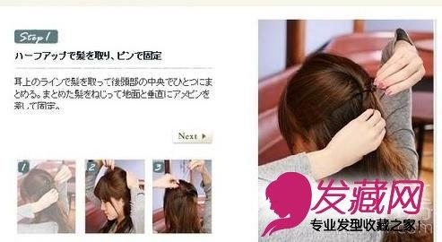 发型分解步骤(2)