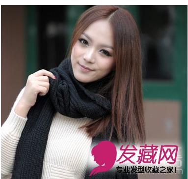 女生最美瓜子脸发型设计图片(2)图片