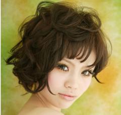 方脸也精致 方脸适合的短发发型图