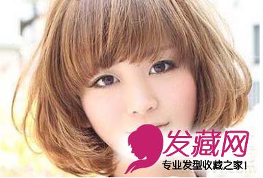 【图】2015最新圆脸短发发型精选_圆脸适合发型_发藏网