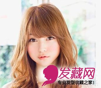 2015长脸发型设计 长脸女生最美发型(2)