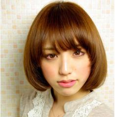 最受女生欢迎的圆脸发型图片设计