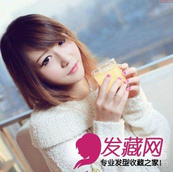 方脸最佳刘海设计 方脸适合的刘海发型(3)