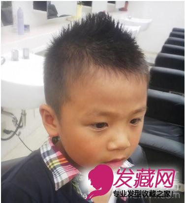 【图】6款适合可爱小男孩发型设计