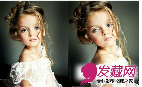 【图】可爱小精灵 小女孩发型图片设计(2)