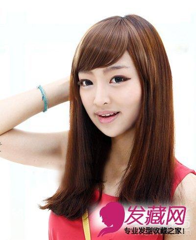 经典直发长发发型图片 最美是长发(2)