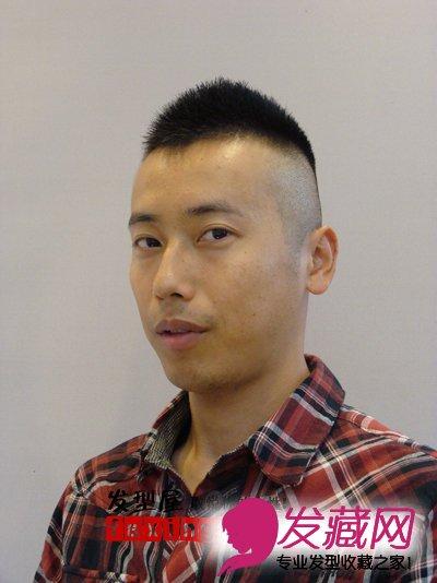 男士平头发型 中年男士qq头像 泡手机图 高清图片