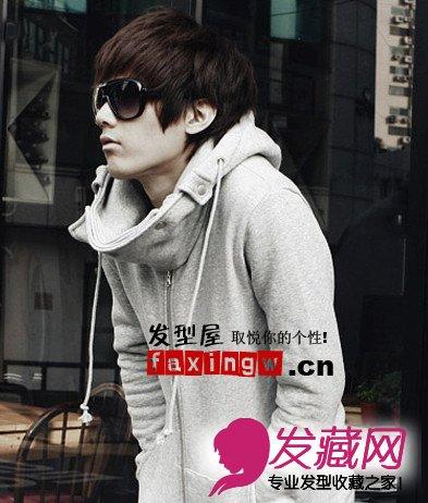 【图】最新流行男生发型设计变身新春型男_男凌乱低发丸子头怎么弄图片