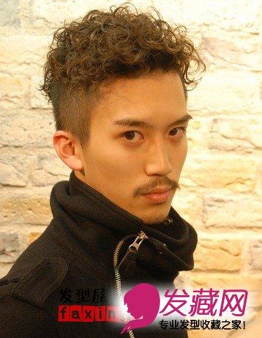 【图】七款男士最新流行短发发型图片