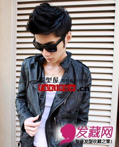冬季街头潮男发型看2013最新男生发型趋势 6 男士短发发高清图片