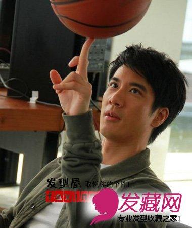 王力宏2015最新男生短发发型