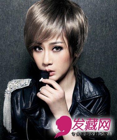 【图】长脸型最适合7款发型 俏丽动人(6)_女生发型与图片