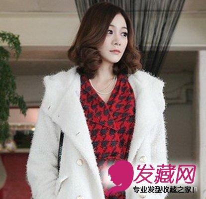 【图】甜美中长发发型设计 适合各种脸型(3)_女生长发