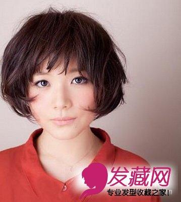 8款可爱波波头发型 秀出完美脸型(6)