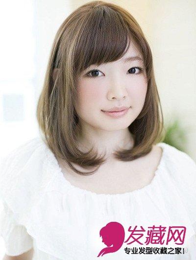 方脸,圆脸女孩也不另外,下面一起来看看日本近期最受热宠的小脸发型吧