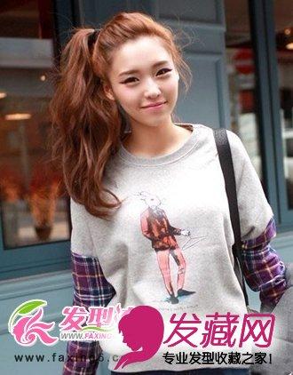 长发发型扎法 发型设计图片(5)