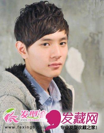 精致男生短发发型 型男展现(4)图片