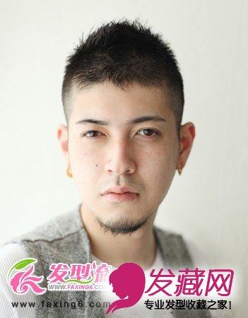【图】精致男生短发发型 型男展现(6)_男士短发发型图片