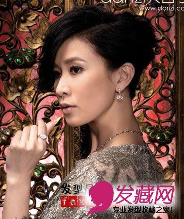 发型  导读:佘诗曼已从当日的温柔婉约蜕变成今天的风华绝色,香港小姐图片