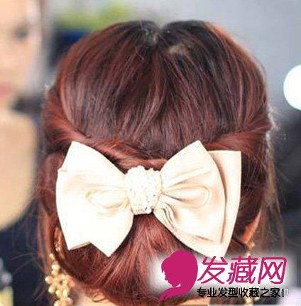 瘦脸辫子发型扎法,两款简单的扎法