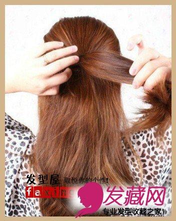 发型网 发型diy 编发教程 > 梨花头怎么扎好看 教你梨花头扎法