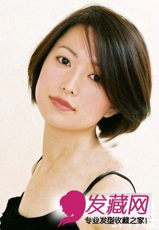 最适合30岁女人短发发型图片