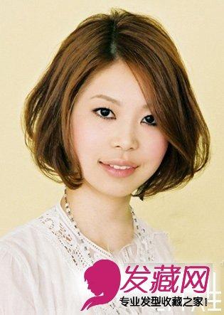 最适合30岁女人短发发型(2)图片