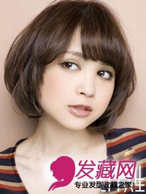 【图】圆脸短发 营造时尚小清新(4)_短发发型图片_发