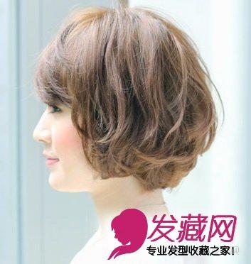 发型网 脸型发型 圆脸适合发型 > 热荐5款甜美波波头 拯救圆脸双下巴