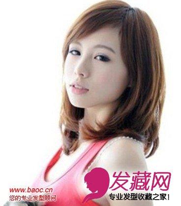 时尚瘦脸适合的发型,轻松打造精致瓜子脸(5)