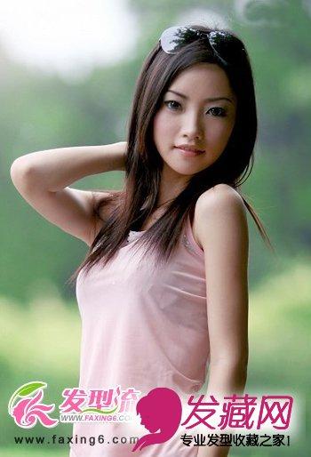 发型,增加了几分熟女气质,深色系的发色,更显女性成熟魅力. 高清图片