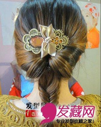 长发妹子都说好 类似法式辫子发型编发发型 →diy一款荷兰鱼尾辫美图片