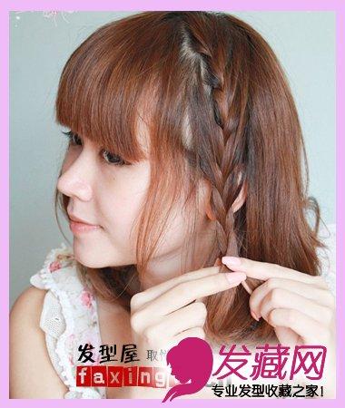 夏季盘发发型_【图】简单几步自己扎出好看的发型_编发教程_发藏网