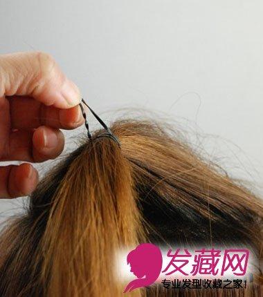 教你扎1000种头发 教你直发发型扎法步骤